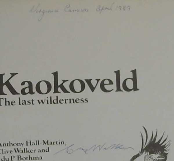 Image for Kaokoveld: The Last Wilderness