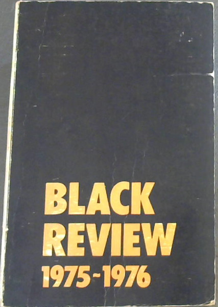 Image for Black Review 1975-1976