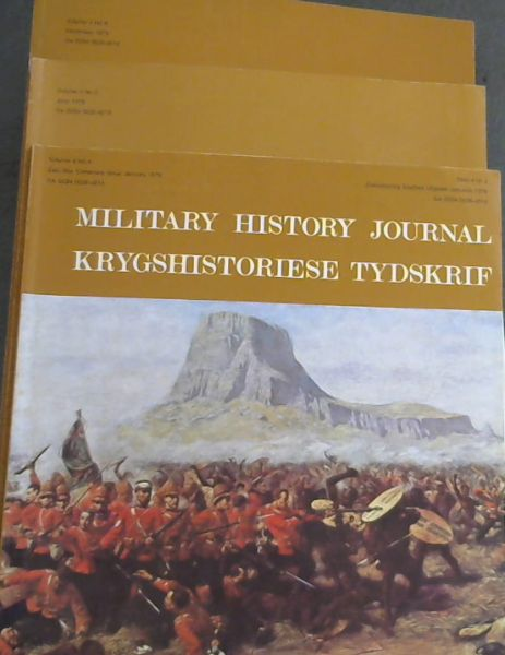 Image for Military History Journal / Krygshistoriese Tydskrif. Vol. 4 No. 4, 5 & 6. Jan, June & Dec. 1979