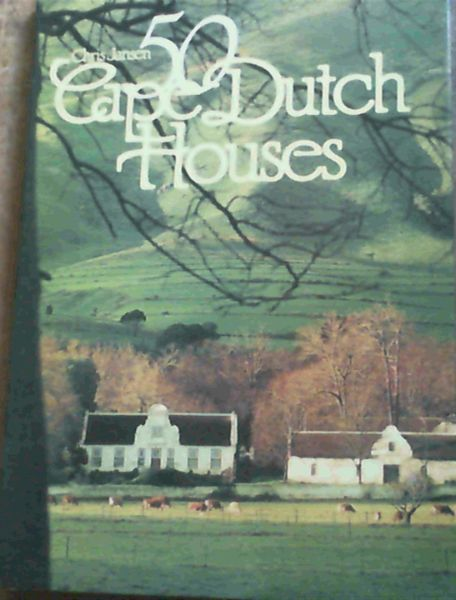 Image for 50 Cape Dutch Houses