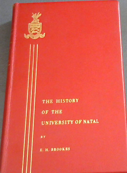 Image for A History of the University of Natal
