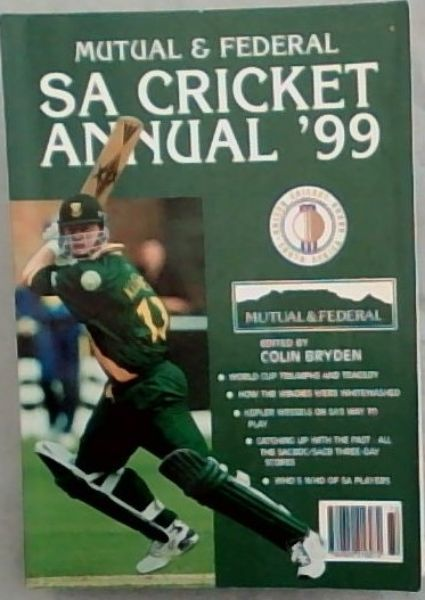 Image for Mutual & Federal South African Cricket Annual 1999. Volume 46