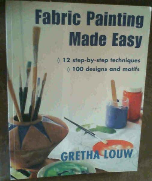 Image for Fabric Painting Made Easy