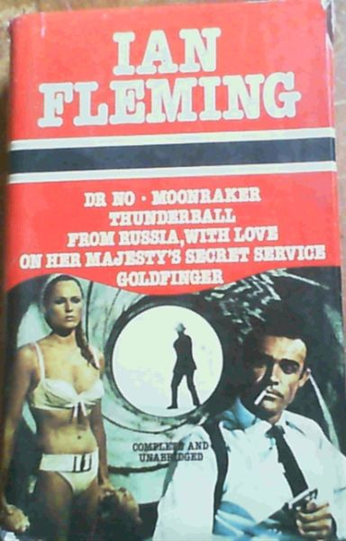 Image for Dr No, Moonraker, Thunderball, From Russia With Love, On Her Majesty's Secret Service, Goldfinger