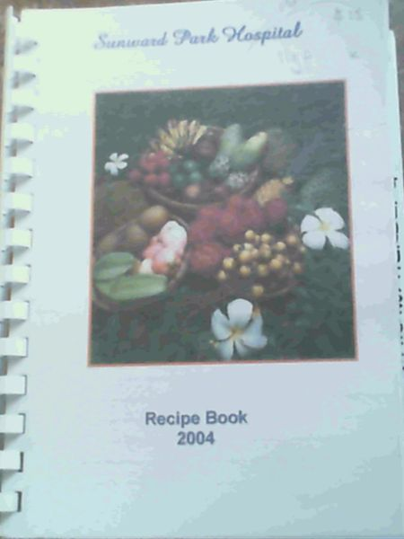 Image for Sunward Park Hospital Recipe Book 2004