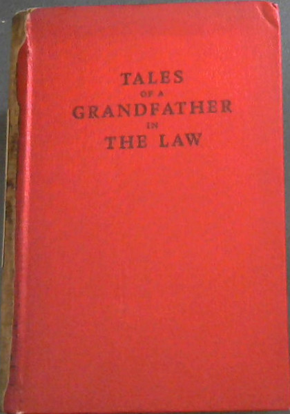 Image for Tales of a Grandfather in the Law
