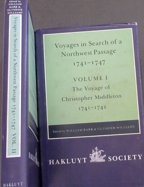 Image for Voyages to Hudson Bay in Search of a Northwest Passage, 1741-47 (Hakluyt Society 2nd Series. 177), Vol. 1 : The Voyage of Christopher Middleton 1741-1742  ; Volume 2 , The Voyage of William Moor and Francis Smith.1746 - 1746