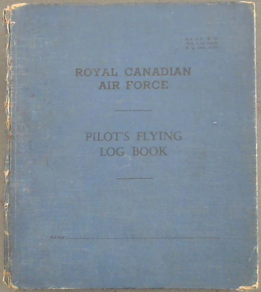 Image for Royal Canadian Air Force Pilot's Flying Log Book