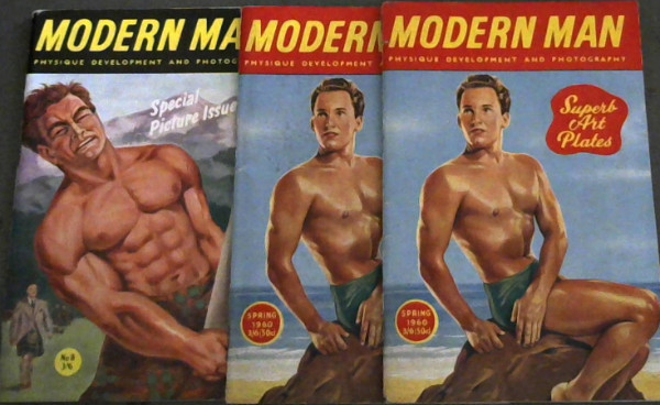 Image for Modern Man Physique Development and Photography - No. 8, 1958 - Spring 1960