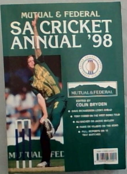 Image for Mutual & Federal South African Cricket Annual 1998. Volume 45