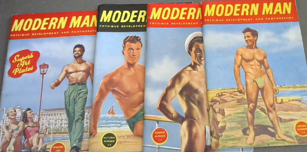 Image for Modern Man Physique Development and Photography - Spring 1959, Summer 1959, Autumn 1959, Winter 1959