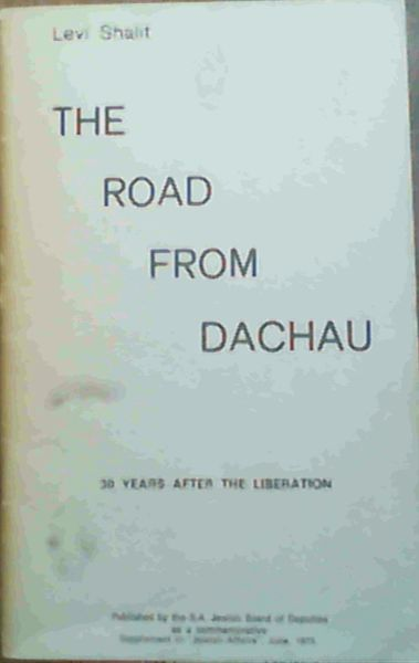Image for The Road from Dachau