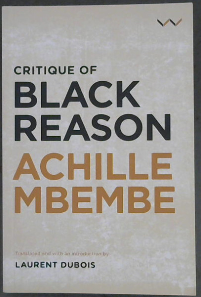 Image for Critique of Black Reason