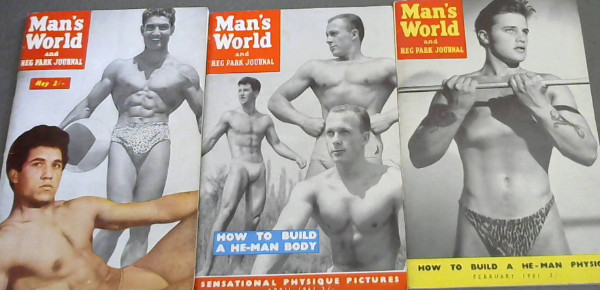 Image for Man's World and Reg Park Journal: February 1961, April 1961, May 1961