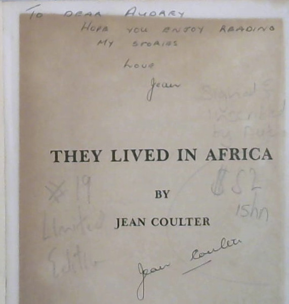 Image for They Lived in Africa