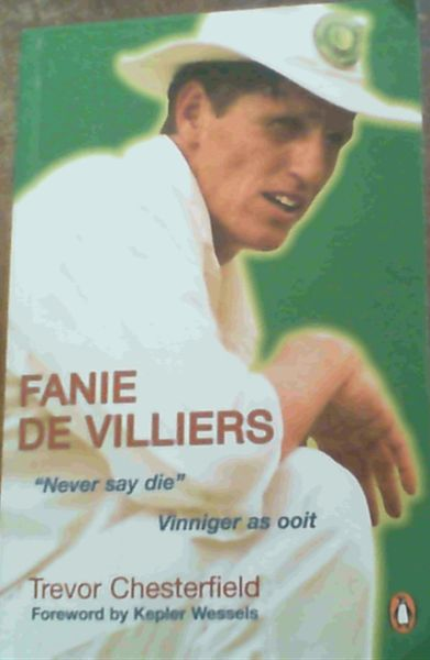 Image for Fanie De Villiers: Never Say Die