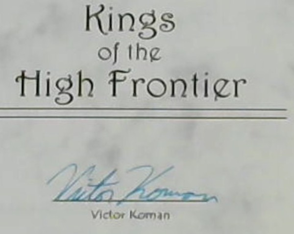 Image for Kings of the High Frontier