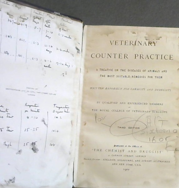 Image for Veterinary Counter Practice