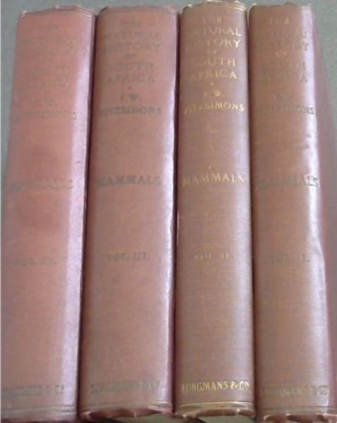 Image for The Natural History of South Africa: Mammals - 4 volumes