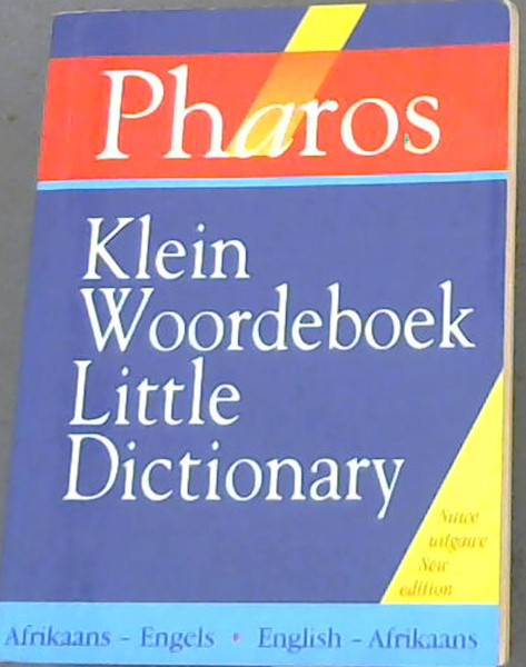 Image for Pharos Klein WOordeboek / Little Dictionary : Afrikaans - Engels. English - Afrikaans