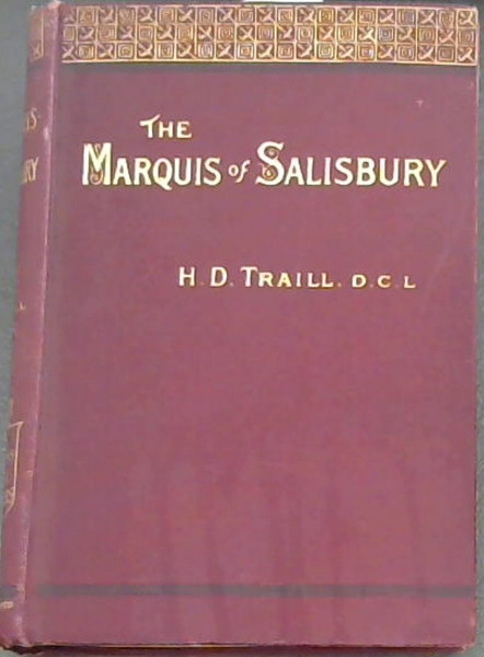 Image for The Marquis of Salisbury [The Queen's Prime Ministers]