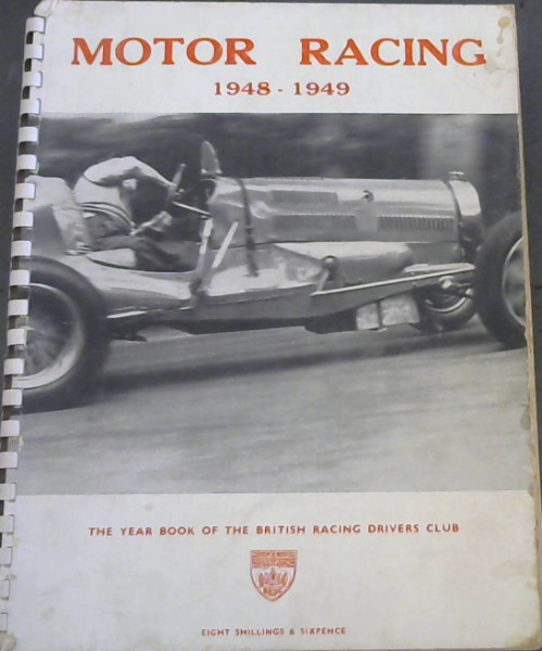 Image for Motor Racing 1948-1949: The Year Book of the British Racing Drivers' Club
