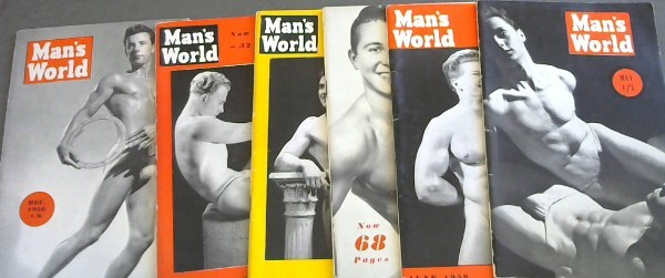 Image for Man's World - May 1956, June 1956, July 1956, August 1956, September 1956, December 1956