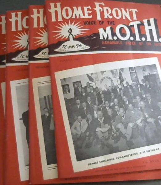 Image for Home Front: Voice of the MOTH - Memorable Order of Tin Hats - Vol XXXX No 1, August 1967 --- No 5, December, 1957