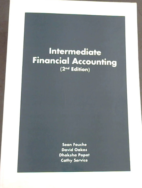 Image for Intermediate Financial Accounting