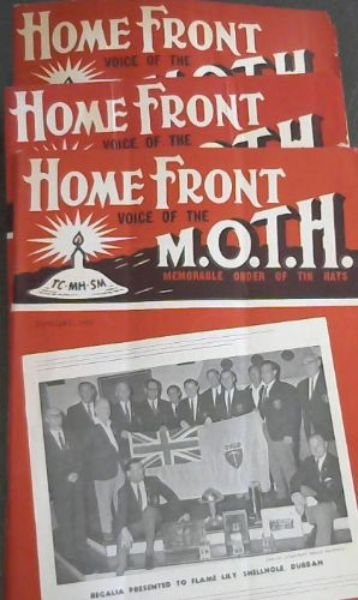 Image for Home Front: Voice of the MOTH - Memorable Order of Tin Hats - January, March 1968