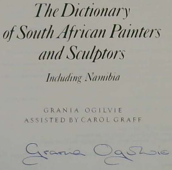 Image for Dictionary of South African Painters and Sculptors - Including Namibia