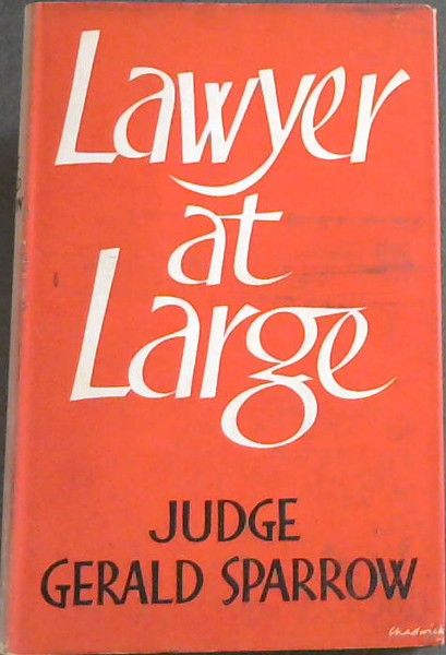 Image for Lawyer at Large