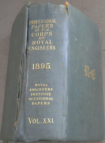Image for Professional Papers of the Corps of Royal Engineers / Royal Engineers Institute - Occasional Papers Vol XXI