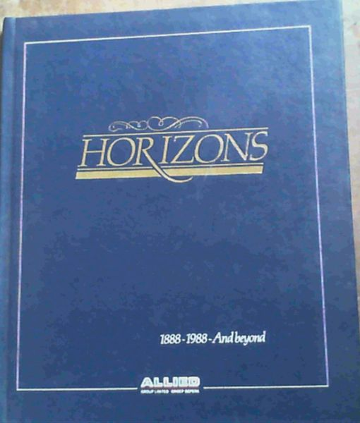 Image for Horizons: 1888 - 1988