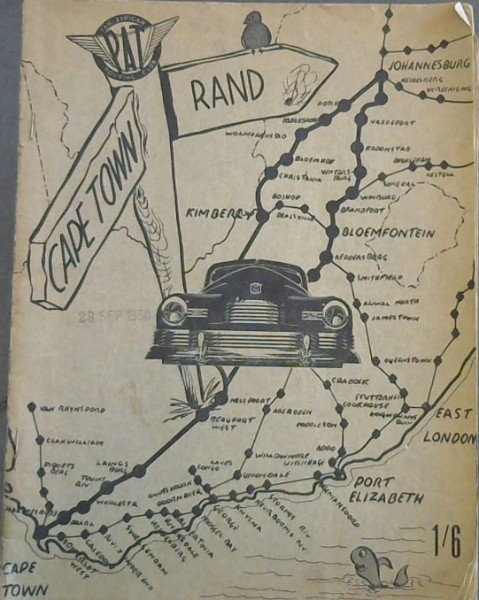 Image for Pan African Touring Club: Cape Town to Rand road planner.