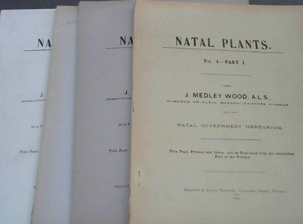 Image for Natal Plants : Vol 4 - Parts 1-4