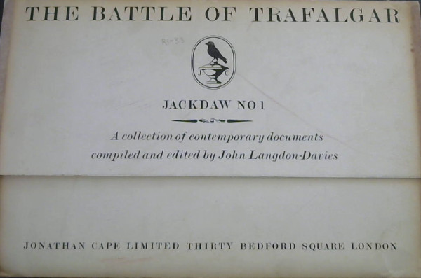 Image for The Battle of Trafalgar - A collection of contemporary documents (Jackdaw No 1)