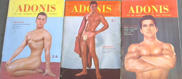 Image for Adonis : The Art Magazine of the Male Physique - vol 1, No 4, September/ October; Vol 1 No 6, March/ April; Vol 2, No 2