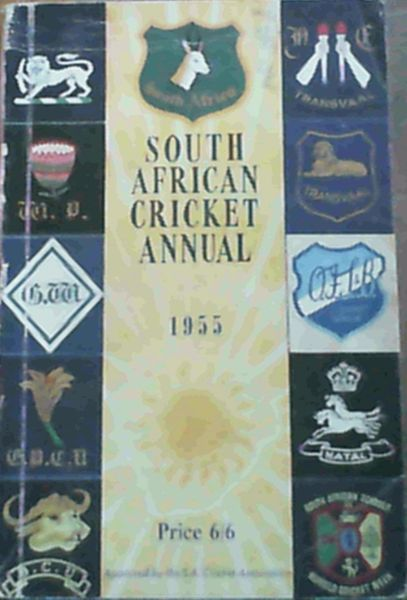 Image for South African Cricket Annual 1955