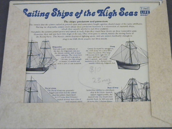 Image for Sailing Ships of the High Seas
