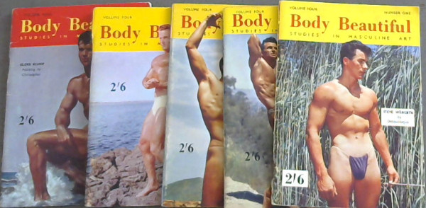 Image for Body Beautiful : Studies in Masculine Art - Vol 4  - Nos 1-5