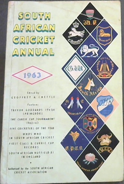 Image for South African Cricket Annual, Vol 10, 1963