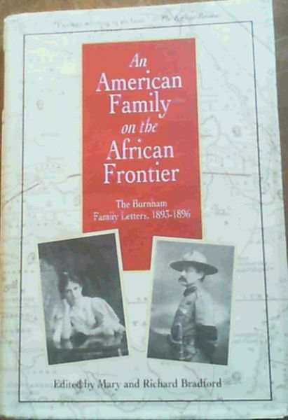 Image for An American Family on the African Frontier : The Burnham Family Letters, 1893-1896
