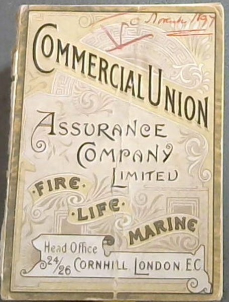 Image for Commercial Union Assurance Company Limited.  Fire-Life-Marine