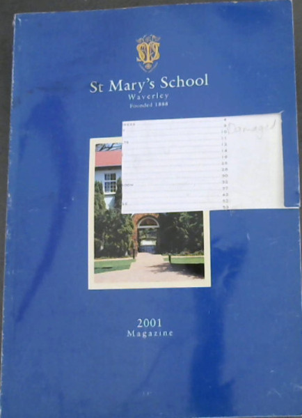 Image for St Mary's School, Waverley, 2001