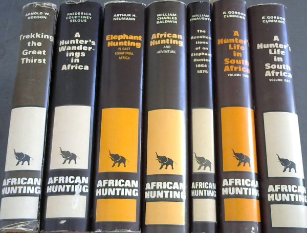 Image for African Hunting Reprint Series - 7 Volumes