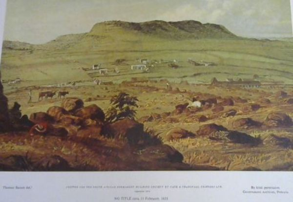Image for 6 Scenes around Bloemfontein and Other South African Scenes by Thomas Baines - Reproduction Prints