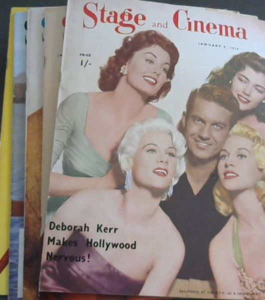 Image for Stage and Cinema - 6 issues from 1959