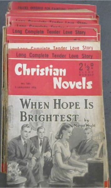 Image for Christian Novels: 37 issues from 1953
