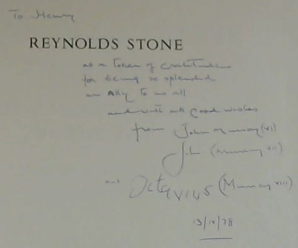 Image for Reynolds Stone Engravings